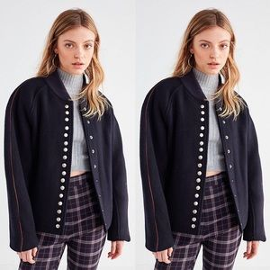 Urban Outfitters Rocket X Lunch Wool Bomber Jacket